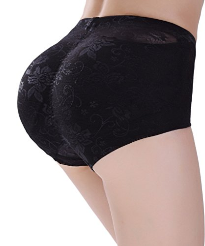 be1e4c0a6 NINGMI Women Butt Lifter Padded Control Panties Hip Enhancer Underwear  Shapewear. Size  pls choose our butt lifter according to our size chart in  the ...