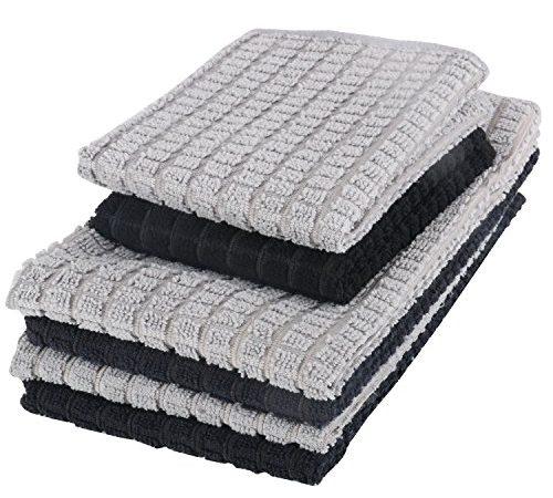 Microfiber Dish Rags: Scomer Microfiber Kitchen Dish Cloth,Dish Towel Set