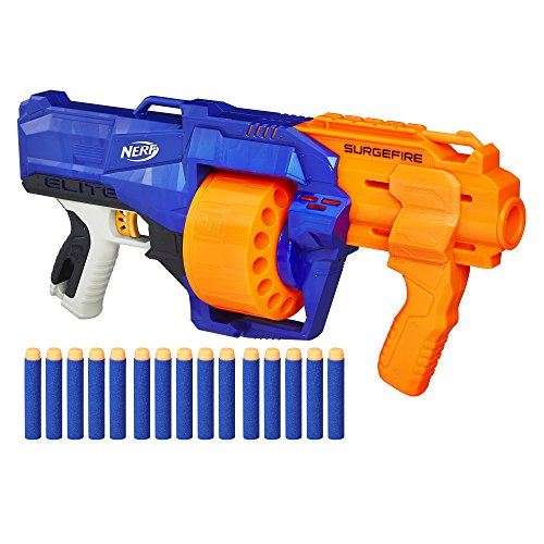 Official nerf Darts - tested and approved for performance and quality. Pull  string back and release to fire darts. Pull down the cocking handle to  ready ...