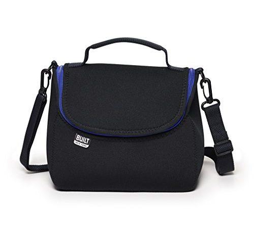 Built Ny Bistro Neoprene Crossbody Lunch Bag Black Stropso