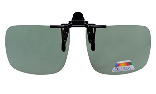 4bb79ed5a9 Eyekepper Square Flip up Polarized Clip-on Sunglasses G15 – Stropso