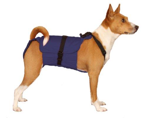 Dog Diaper Wrap Medium Blue Stropso