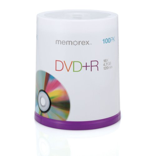 Memorex Dvd Plus R 16x 4 7gb 100 Pack Spindle Stropso