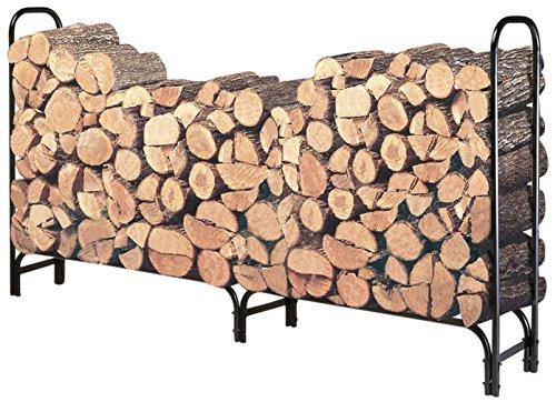 Hollyhome 8 Feet Large Heavy Duty Outdoor Firewood Racks